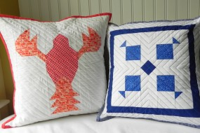 Trapped & Fish Pillows