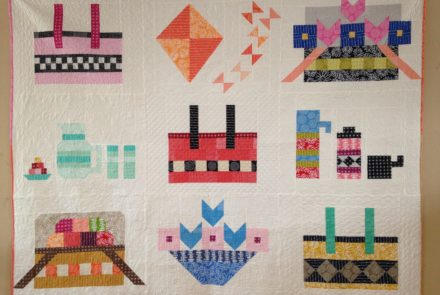 Picnic quilt – spring special – all 9 patterns for $30 (Digital files)